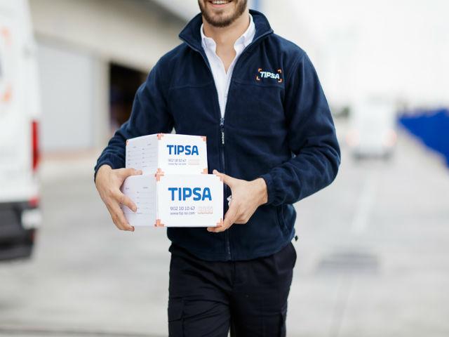 Enviar paquete con Tipsa