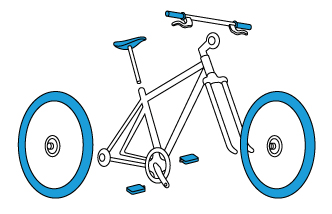 Cómo embalar bicicleta para enviar