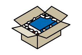 La forma más segura de enviar una caja con libros