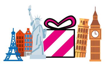 Cómo enviar un regalo al extranjero