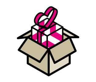 El embalaje adecuado para el envío de un regalo por correo