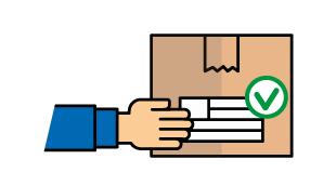 Envía tus paquetes a domicilio con la correspondiente etiqueta