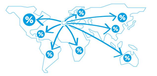Envíos baratos a destinos internacionales y nacionales