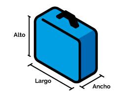 ayuda medidas maleta